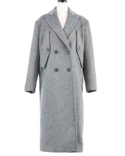 【 NEW 】FINE LONG COAT