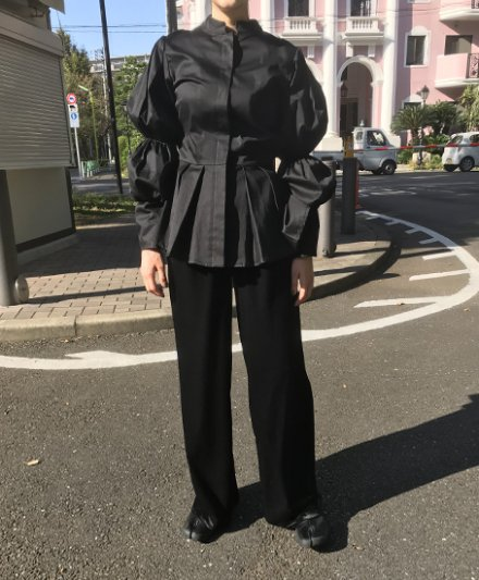 【 UN / VICTIM 】MAMLUK SLEEVE MAO-COLLAR SHIRTS