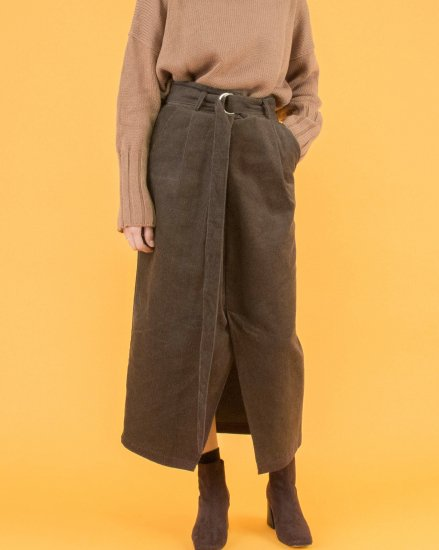 【 NEW 】CORDUROY LONG SKIRT