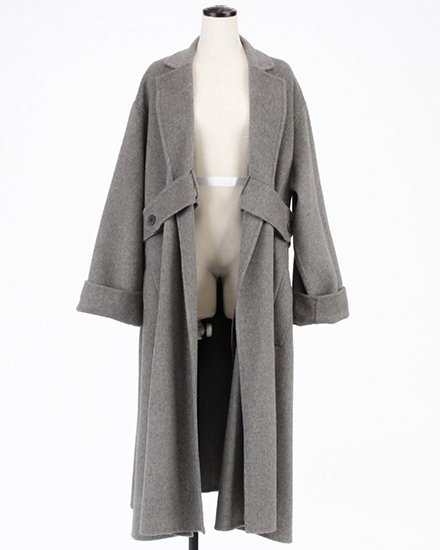 【 NEW 】SIDE BELT LONG COAT