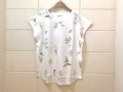 オニオンツリークラフト ワイルドフラワーTシャツ(オフホワイト)