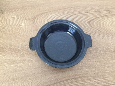 古谷浩一さんのルリ釉 耐熱グラタン皿 小