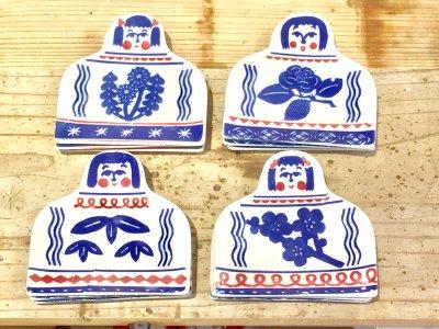 倉敷意匠 KATAKATA 印判手豆皿