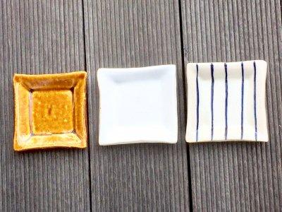 石川哲生さん(三重県)の角豆皿 汚れ防止の撥水加工