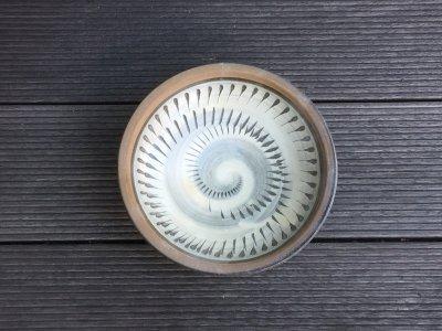 小鹿田焼 ふち重皿 5寸皿(坂本工窯)