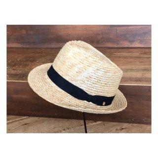 田中帽子店 麦わら帽子 中折れハット クラッシックな雰囲気