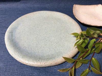 宮崎和佳子さんのざぶとん丸皿 大 小鳥が似合うお皿です。
