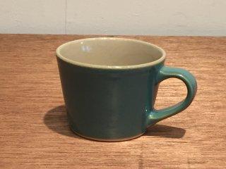 益子焼 道祖土和田窯 マグカップ 青磁