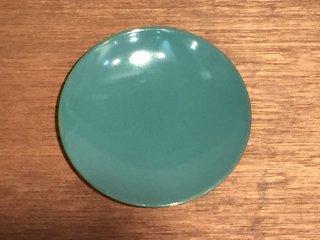 益子焼 道祖土和田窯 5寸皿 青磁
