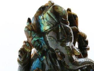 【LR5】宇宙の叡智が秘められたラブラドライト・ガネーシャ