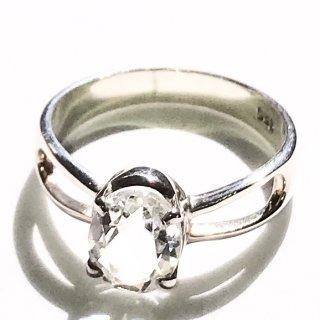 天然石アクセサリー 指輪 水晶 #14