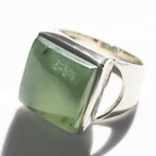 天然石アクセサリー 指輪 ニュージェイド #13