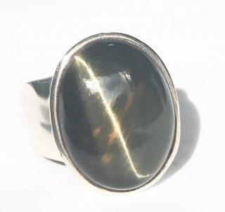 天然石アクセサリー 指輪   タイガーアイ #18
