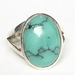 天然石アクセサリー 指輪    チベットターコイズ #12