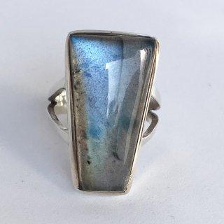 天然石アクセサリー 指輪    ラブラドライト #10