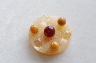 天然石 飾り物・置き物 アラゴナイト、カーネリアン、水晶 7星陣