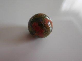 天然石 丸玉 ユカナイト    13mm