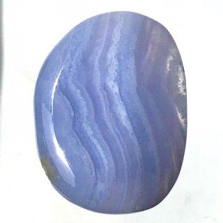 天然石 タンブル ブルーレースアゲート
