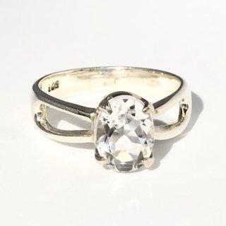 天然石アクセサリー 指輪 水晶 #17