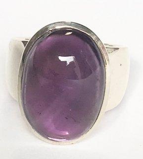 天然石アクセサリー 指輪    アメジスト #13