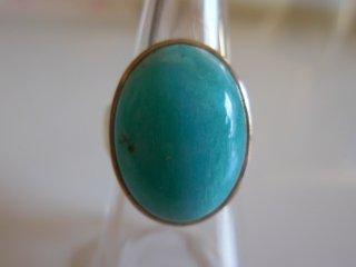 天然石アクセサリー 指輪 ペルー産アマゾナイト #13