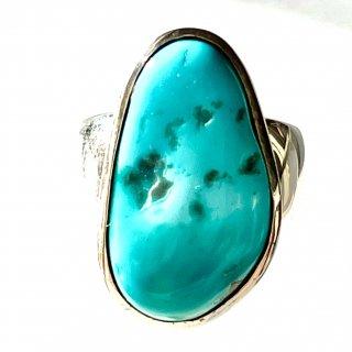 天然石アクセサリー 指輪 スリーピングビューティターコイズ #12号