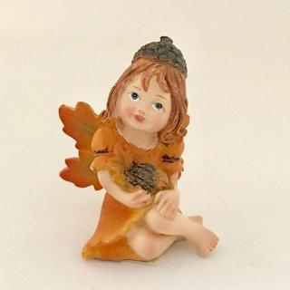 秋の木の実の妖精(オレンジ)