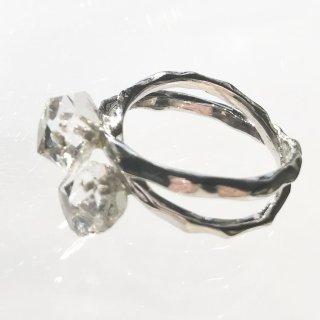 天然石アクセサリー 指輪  ハーキマーダイアモンド #10