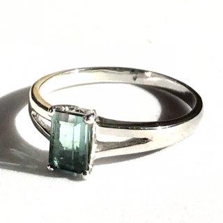 天然石アクセサリー 指輪 サイズ12号 アクアマリン