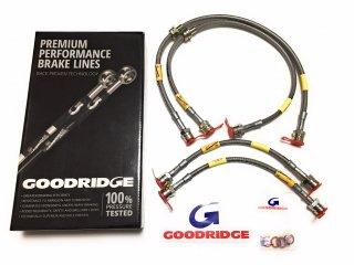 GOODRIDGE プレミアムパフォーマンスブレーキライン ステンメッシュブレーキホース  AMG A45 CLA45