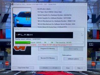 VR Tuned ECUフラッシュチューニング    AUDI R8 V10 Plus 5.2L 610HP