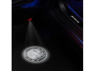 メルセデスベンツ 純正 LEDロゴカーテシランプ    AMGロゴ