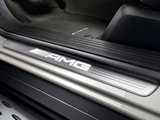 MercedesBenz メルセデスベンツ 純正 LEDイルミスカッフプレート    ML GL GLE GLS