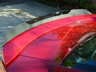 ZL1addons WickerBill リアスポイラー カーボンタイプ シボレー カマロ 5TH 2014-2015