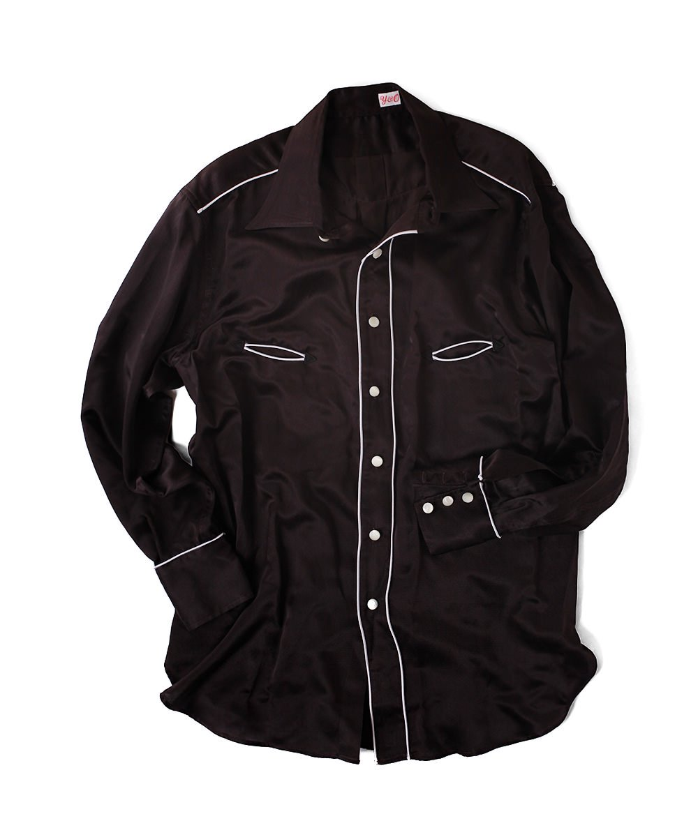 YOUNG WESTERN SILK SHIRT