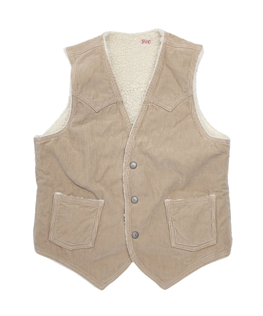 YOUNG SHELPA CORD VEST