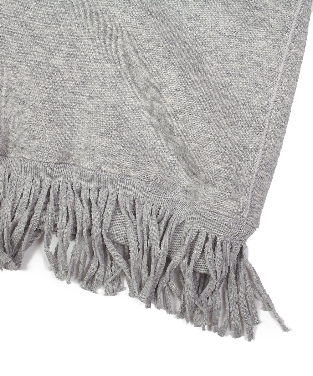 TWISTED V FRINGE SWEAT