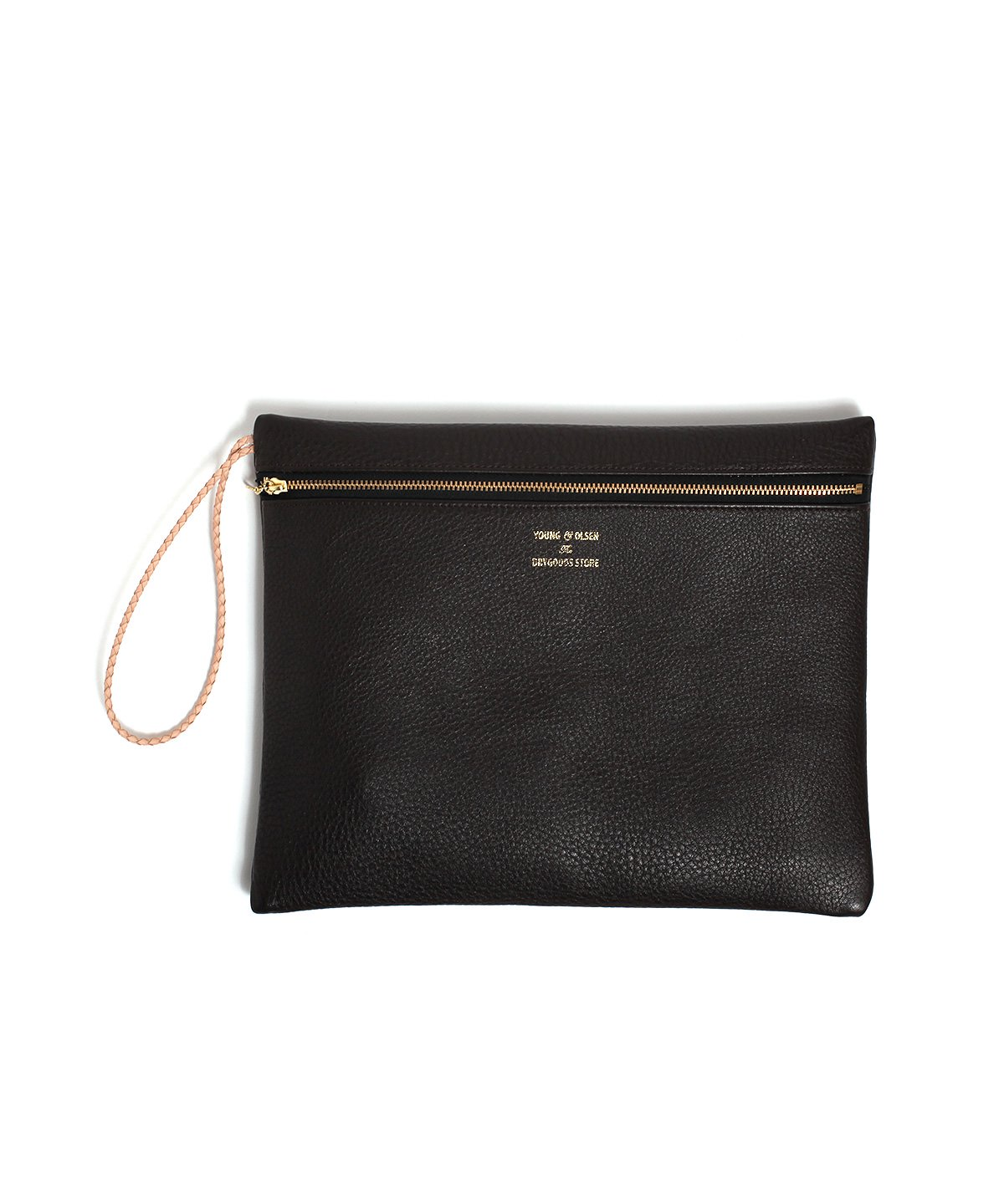 WESTERN LEATHER POUCH L