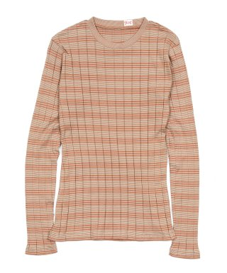 YOUNG & OLSEN BROAD RIB CREW NECK LS