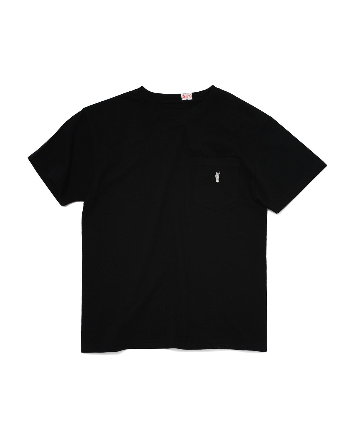 CAT POCKET HOOP TEE