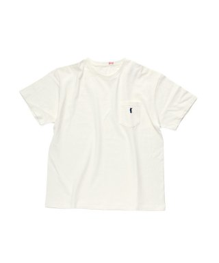 YOUNG & OLSEN CAT POCKET HOOP TEE