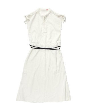 YOUNG & OLSEN TOWELING ROPE DRESS