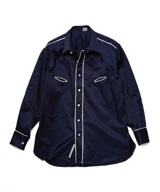 YOUNG & OLSEN SATIN WESTERN SHIRT