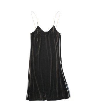 YOUNG & OLSEN VELOUR DRESS