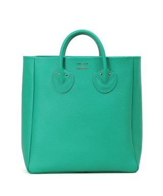 YOUNG & OLSEN EMBOSSED LEATHER TOTE M