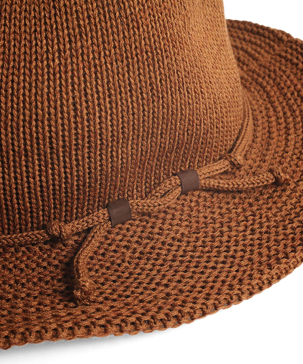 KNITTED WESTERN HAT