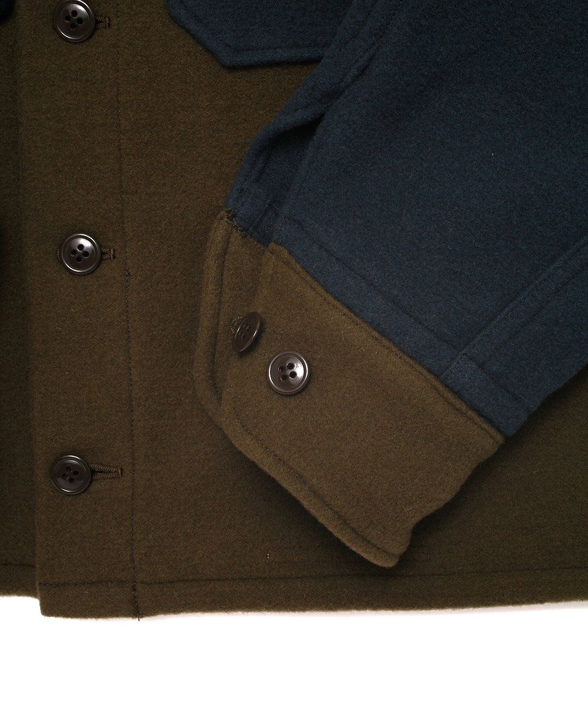 CRAZY WOOL CPO JACKET