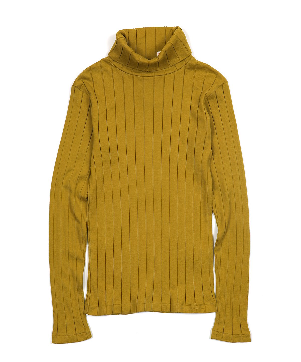 BROAD RIB TURTLENECK LS