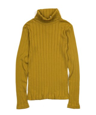 YOUNG & OLSEN BROAD RIB TURTLENECK LS