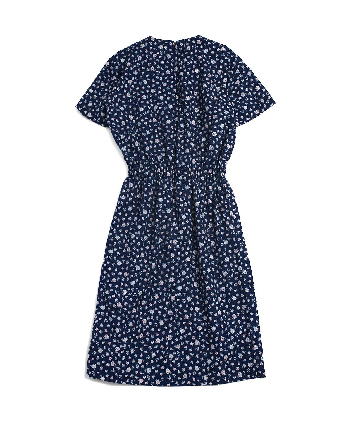 HOMESTEAD INDIGO DRESS